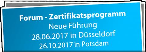 forum zertifikatsprogramm neue führung